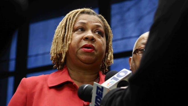 File photo: Wilmington City Council member Hanifa Shabazz in 2015.