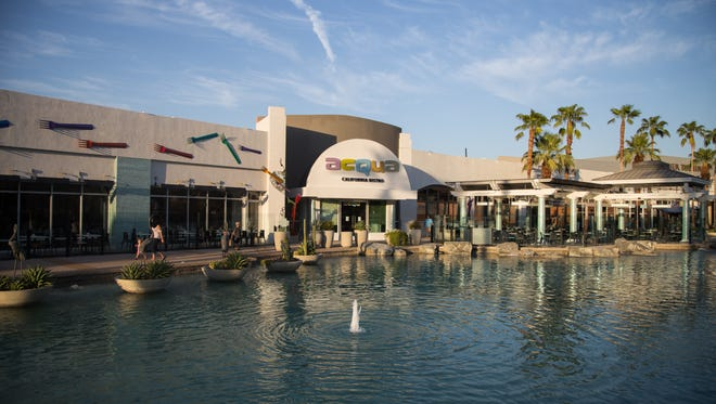 Acqua California Bistro at the River in Rancho Mirage is playing host to a fully-staged Broadway song and dance revue.