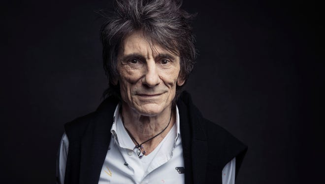 Rolling Stones guitarist Ronnie Wood opens up about his lung cancer diagnosis.