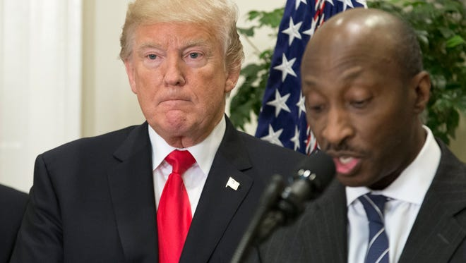 The decision by Merck CEO Kenneth Frazier to resign from an advisory panel in the wake of President Trump's response to violence in Charlottesville was widely praised and seen as an example other corporate leaders should follow.