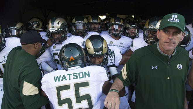 The CSU football team faces CU at 6 p.m. Friday in the Rocky Mountain Showdown in Denver.