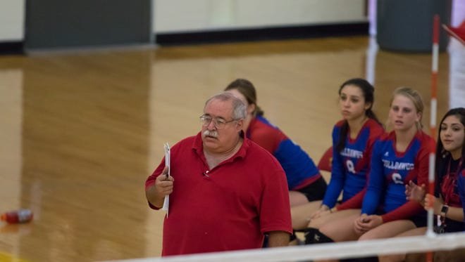 Las Cruces volleyball coach Keith Leupold surpassed 500 wins this season and his Bulldawgs are the No. 3 seed for this week's state volleyball tournament.