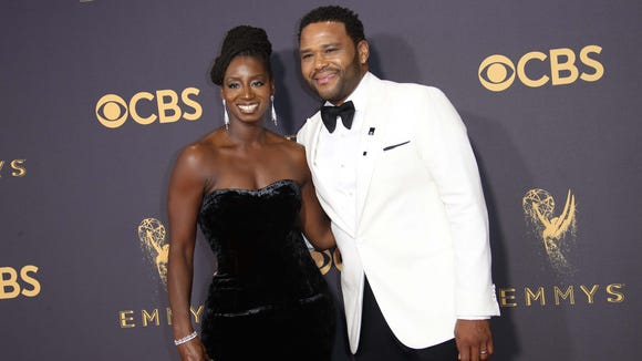 Anthony Anderson and Alvina Stewart kept it classy