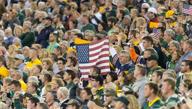 Fans are continuing to buy tickets to NFL games despite national anthem protests, according to some ticket brokers.