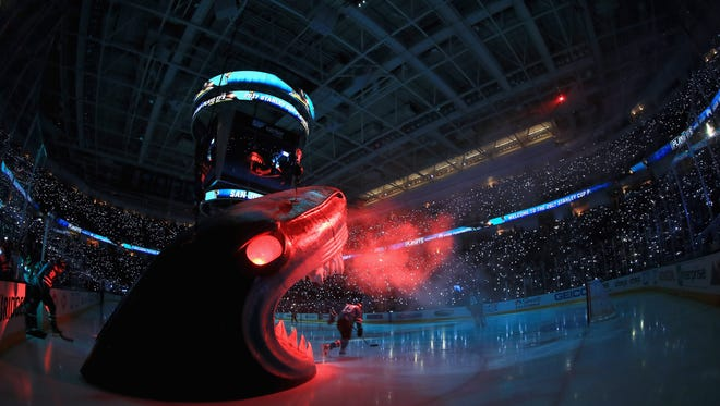 """The Flyers open their season Wednesday night in the """"Shark Tank."""""""