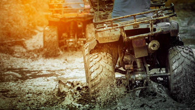 Stock image of two ATVs.