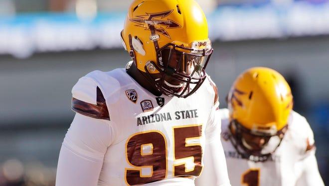 Arizona State defensive lineman Renell Wren.
