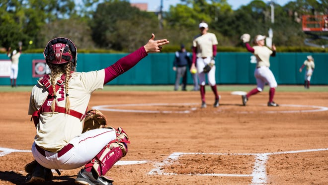 Seminoles held to no hits the last five innings of the first game in the NCAA Super Regional.