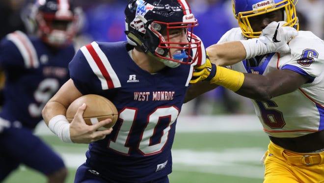 West Monroe (5A) and Sterlington (3A) were each top overall seeds, while Ferriday (2A), Oak Grove (1A) and Cedar Creek (Division IV) were in the top-2 of its classifications.