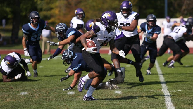 Junior receiver Kamaron Green is part of an Ashland University football team that has won nine straight and is closing in on a post-season berth.