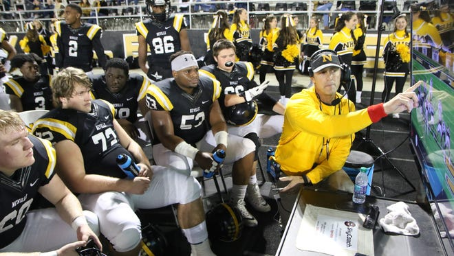 Neville finished 8-4 and advanced to the Class 4A quarterfinals for the ninth-straight year in Mickey McCarty's 16th season as head coach.