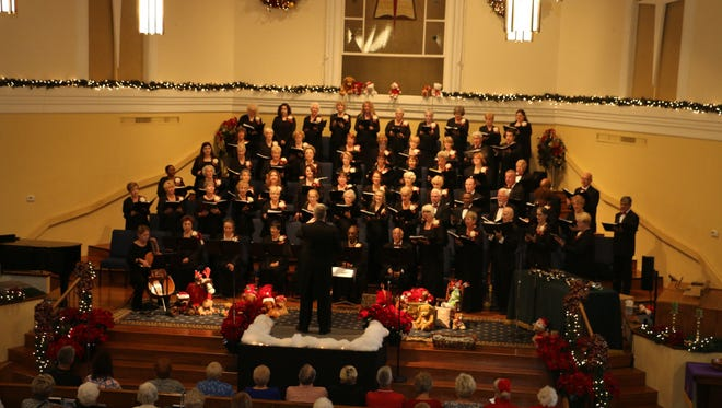 Treasure Coast Community Singers will perform at North Stuart Baptist Church Dec 1 through 3.