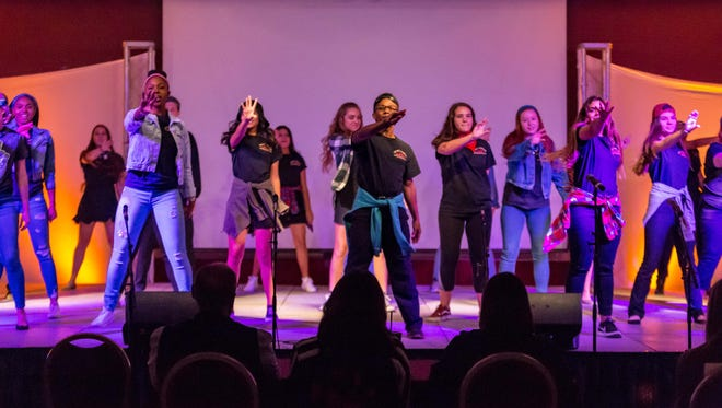 Spear-it Night proved to be a success as students showcased their talents.
