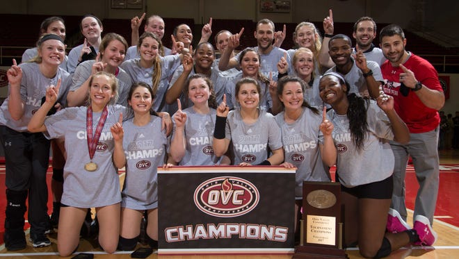 Austin Peay volleyball captures the OVC Championship and an NCAA tournament bid.