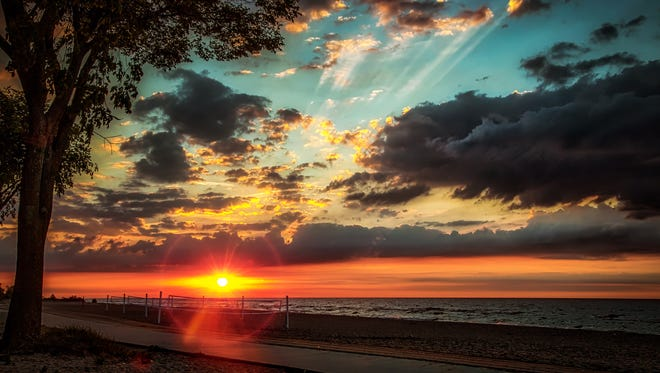 Sunrise at Neshotah Park in Two Rivers. This photo was a winner in the Manitowoc Area Visitor & Convention Bureau's 2017 Digital Photo Contest.