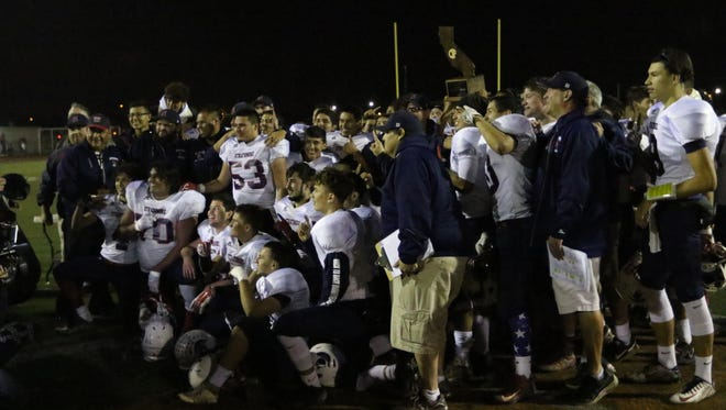 Strathmore Spartans defeated the Orange Panthers in the CIF State Division 6-AA Championship Bowl Game at El Modena High School on Saturday..