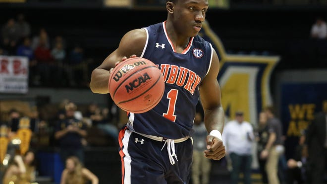 Auburn sophomore point guard Jared Harper leads the 19th fastest squad in the nation according to Ken Pomeroy's statistical analysis on pace of play.
