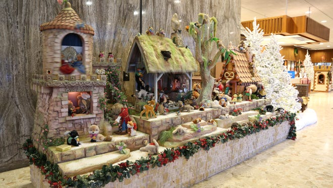 """A Holiday in King Arthur's Court - The Magic of Camelot,"" the annual holiday display at BMO Harris Bank, 770 N. Water St., runs through Jan. 2."