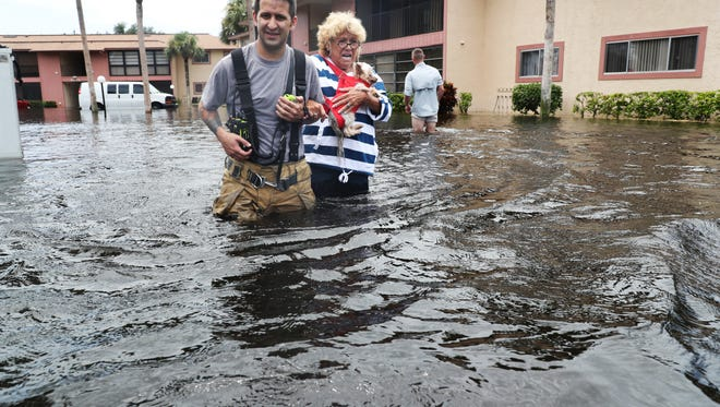 Residents of Island Park in south Fort Myers battled historic flooding and Hurricane Irma in 2017.