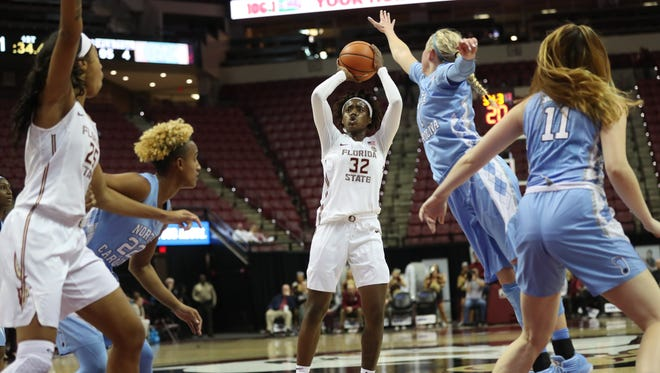 Imani Wright scored a career-high 33 points against UNC.