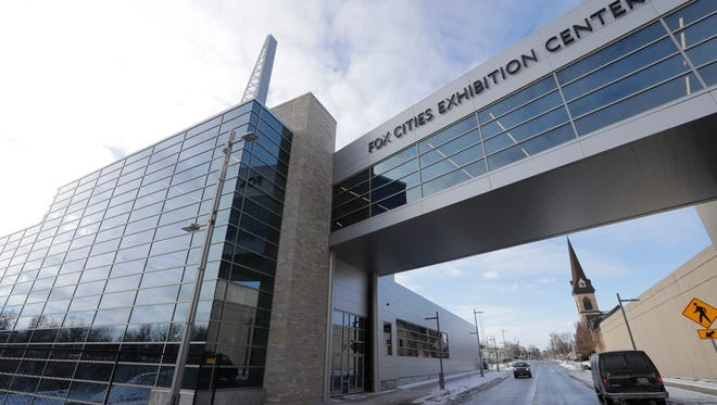 The Fox Cities Exhibition Center will open Jan. 11 in downtown Appleton.