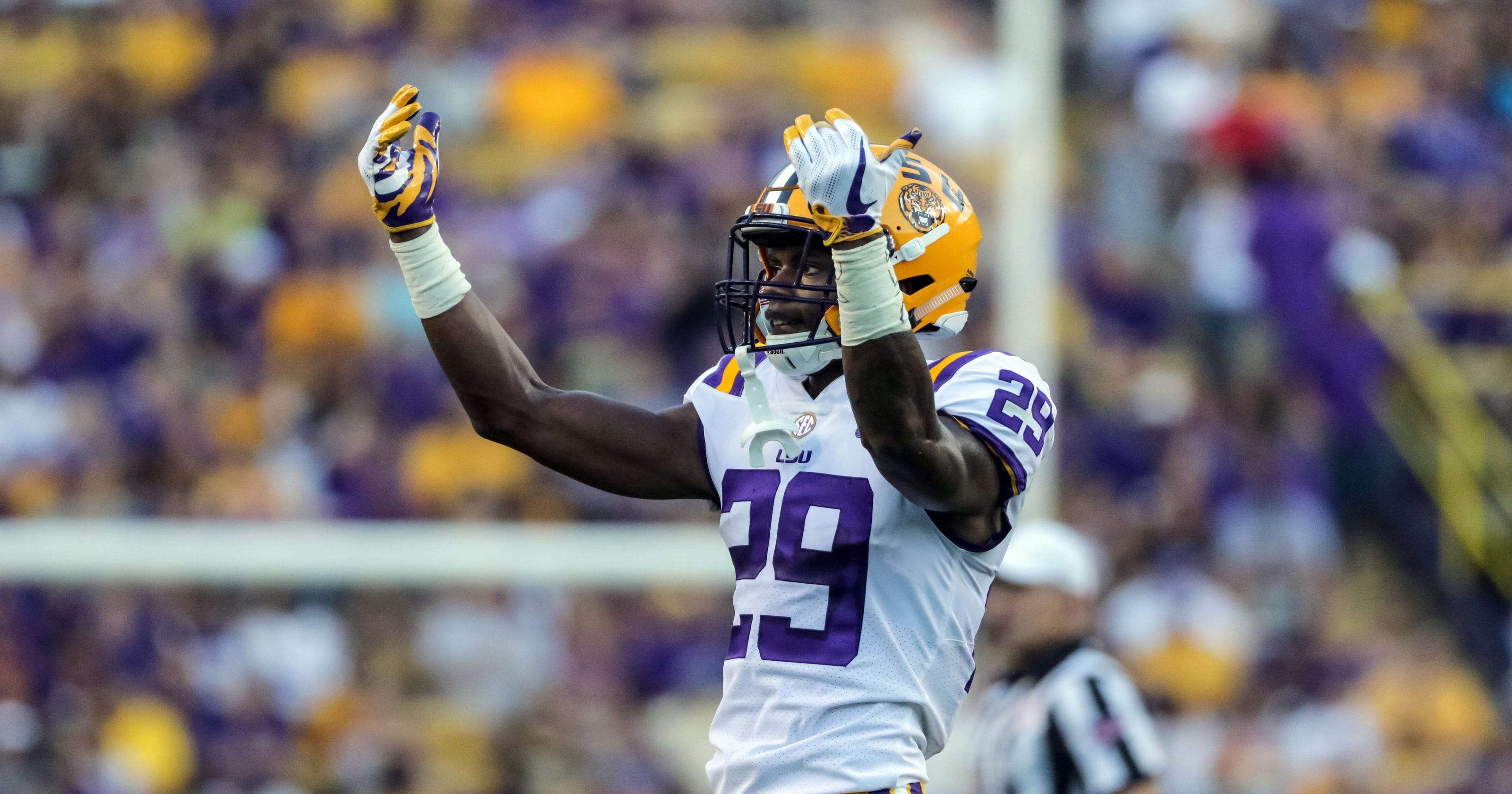 Image result for greedy williams lsu