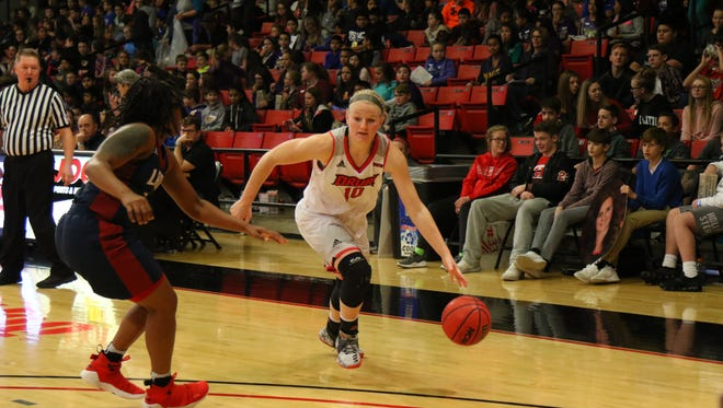 Lady Panthers guard Lexie Vaught
