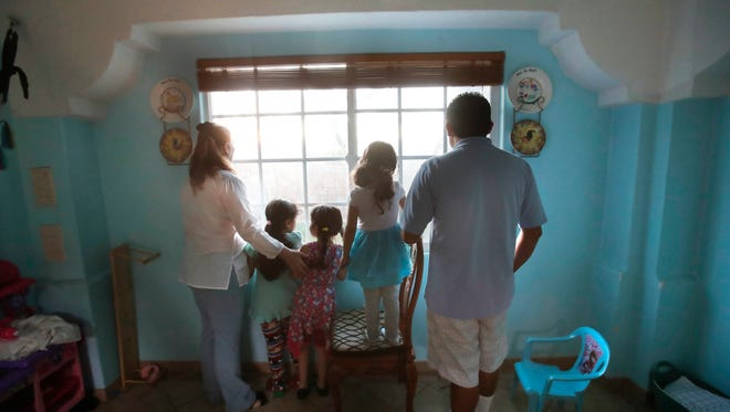 A couple from El Salvador with Temporary Protected Status adopted three children in the U.S. but after the Trump administration has ended TPS the future is uncertain for the family.