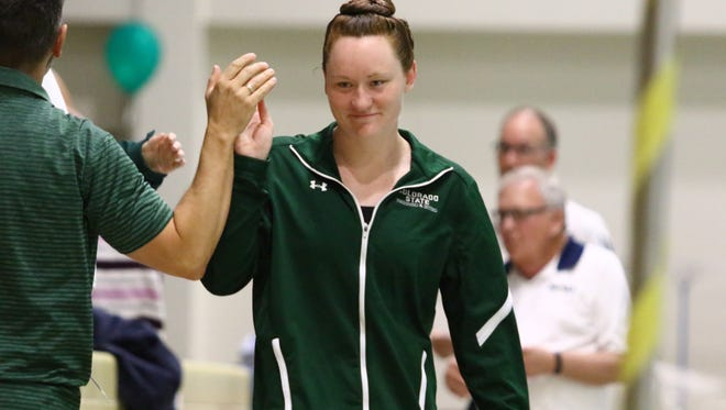 CSU senior swimmer Colleen Olson has recovered from four hip surgeries to help the Rams to one of their best seasons in years.