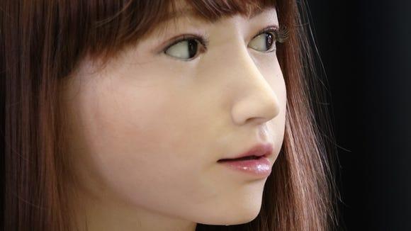 Erica, the humanoid like robot from the ERATO ISHIGURO