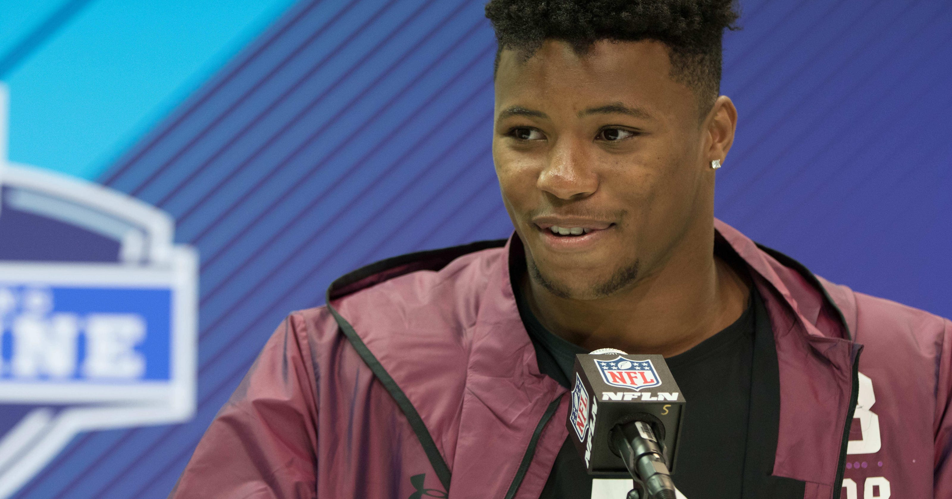 2018 NFL Combine  Can the Colts pass on Saquon Barkley in NFL Draft b9bdcdd09