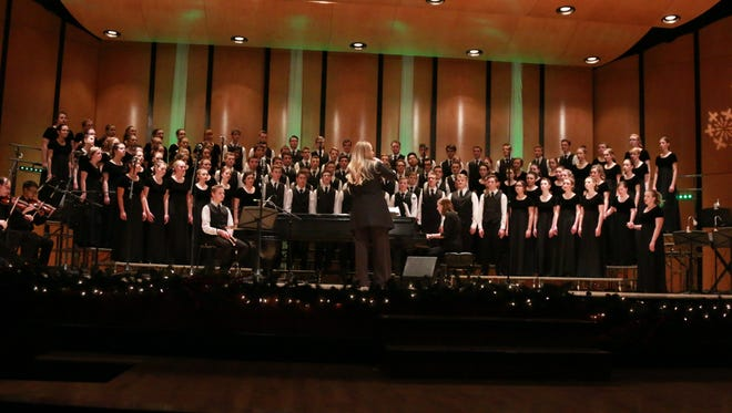 """Cantus Youth Choirs from Boise, Idaho, will join three local school choirs to perform """"You Will Be Found"""" March 16 to benefit Liberty House."""