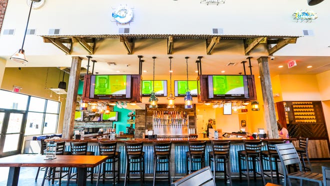 A first look at the new Marlins Brewhouse and Chronic Tacos in south Fort Myers. It opened to the public Wednesday, March 7.