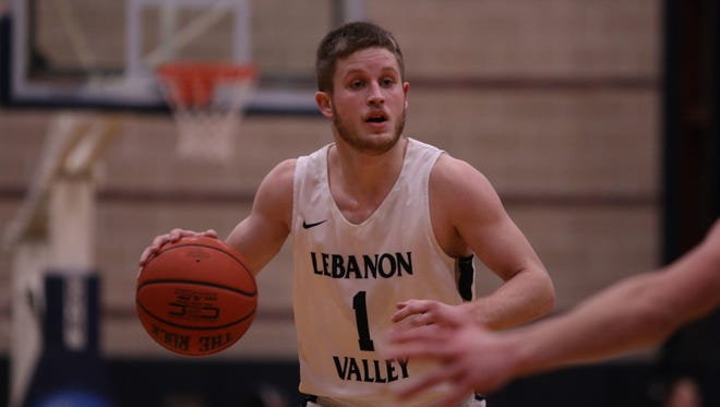 Sam Light had a senior season to remember, both individually and from a team standpoint, at Lebanon Valley College this winter.
