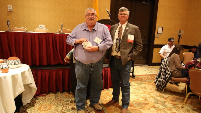 Ray Keller received the 2017 Ayudando Siempre Alli Award from the New Mexico Cattle Growers Association (NMCGA) at the Joint Stockmen's Convention recently held in Albuquerque.