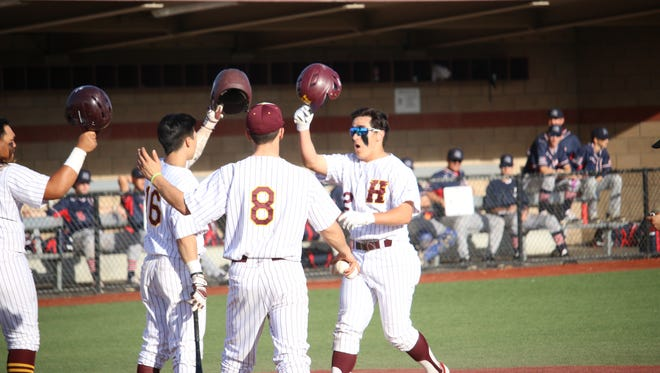 Part of the Hartnell baseball team's turnaround has been production from the plate, as the team's averaged nearly eight runs per game in March.