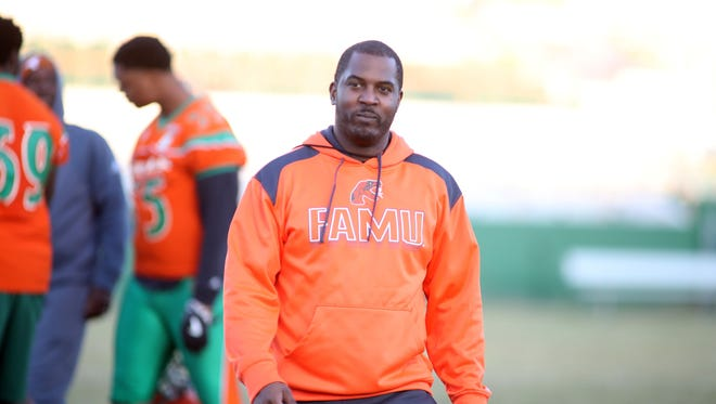 FAMU coach Willie Simmons and the Rattlers opened spring practice Wednesday at Bragg Stadium.