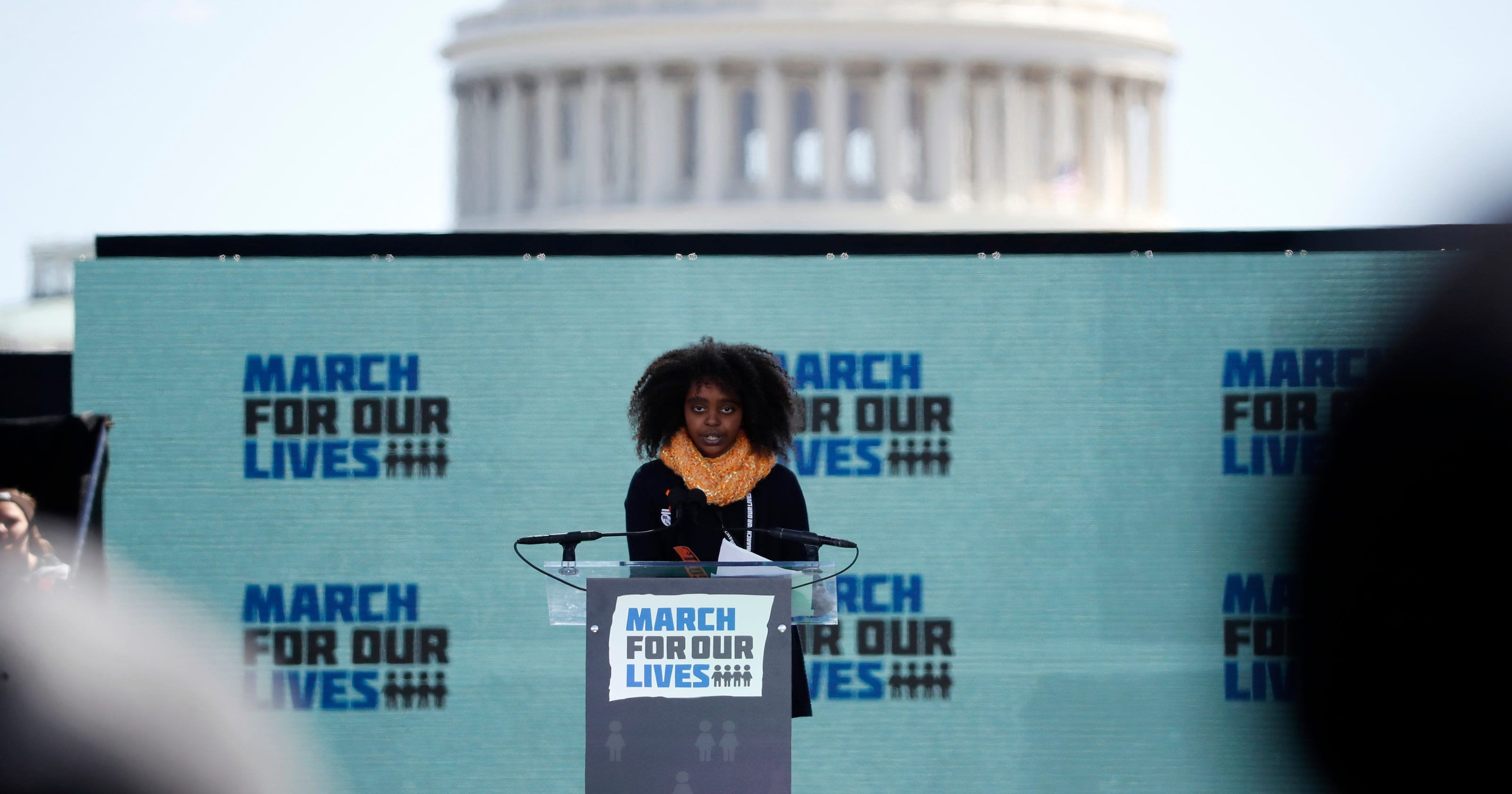 Naomi Wadler  11-year-old gave a powerful March for Our Lives speech ec21cb3ec7c