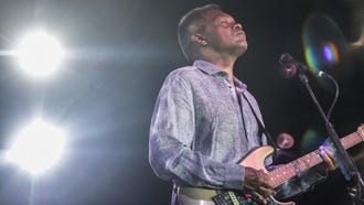 Robert Cray of the Robert Cray Band perform at the Indian Wells Music Festival on Saturday, April 7, 2018 at the Indian Wells Tennis Garden.