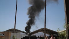 RVs catch fire at Stagecoach country music festival campgrounds