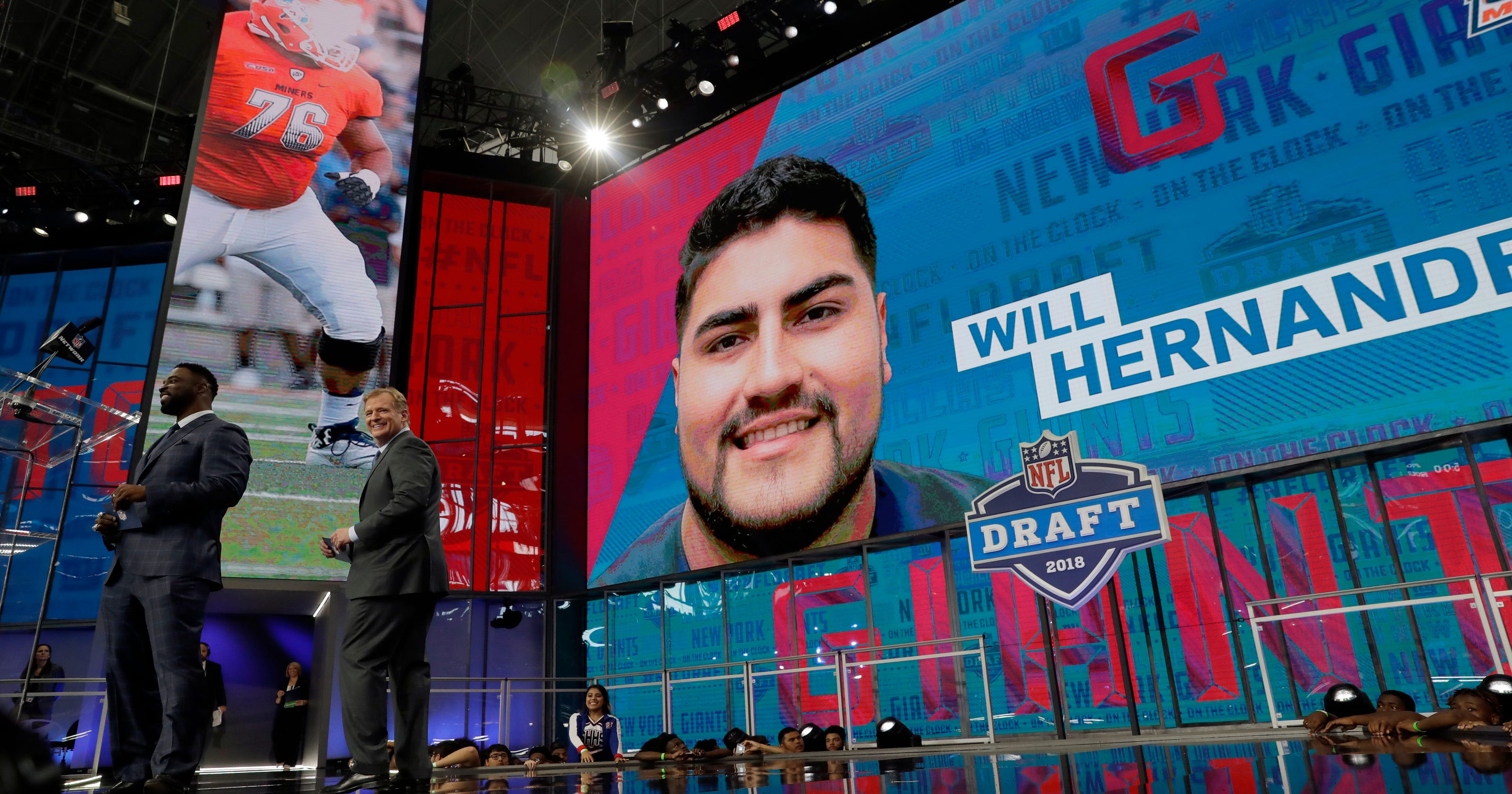 New York Giants take UTEP lineman Will Hernandez in the 2nd round of 2018 NFL  draft e946a66ea