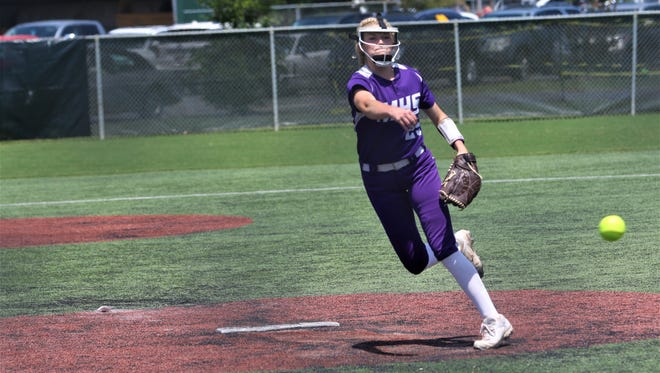 Mangham tied the game 2-2 in the sixth inning in an eventual 3-2 walk-off loss to Doyle in the Class 2A state championship game on Saturday at Sulphur's Frasch Park.