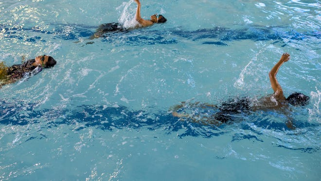 Swim lessons can help children get over their aquatic fears and help keep your children safe.