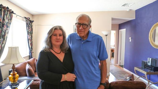Mona Kirk and Daniel Panico's new home in Joshua Tree, May 10, 2018.