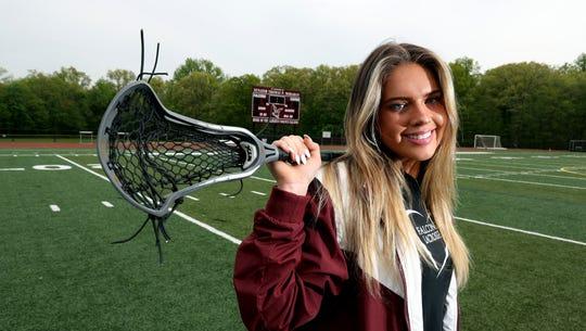 Mairead Durkin, a senior lacrosse player at Albertus