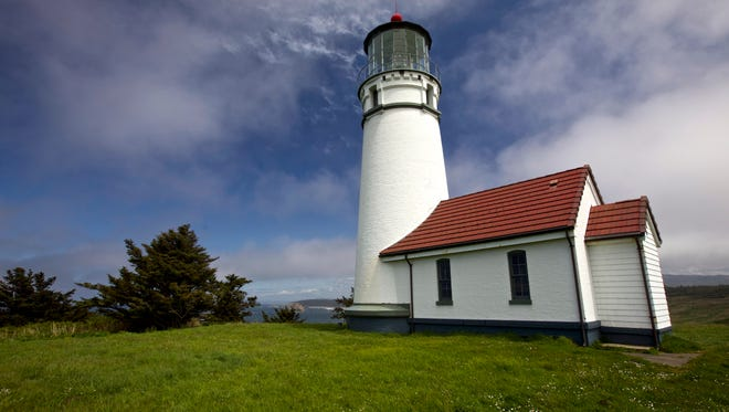 Cape Blanco Lighthouse on the Oregon Coast.