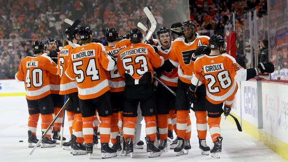 The Flyers will open their season on the road in Las Vegas.