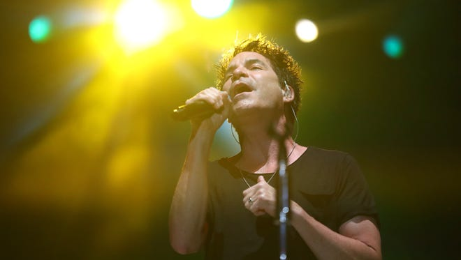 Train performs at the Capital City Amphitheater at Cascades Park on Thursday, June 21, 2018.