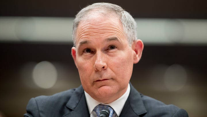 Scott Pruitt left the EPA mired in scandal. Now he is lobbying Indiana lawmakers.