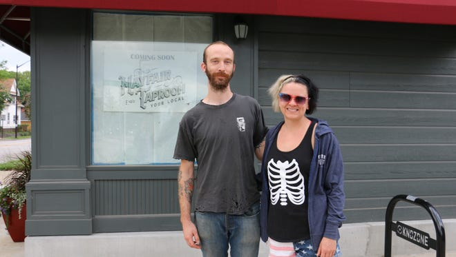 Alec Hill and Hilary Powers are preparing to open the Mayfair Taproom on Indy's east side.